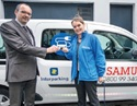 Interparking supports Samusocial in its fight against exclusion and hands over the keys to a response vehicle